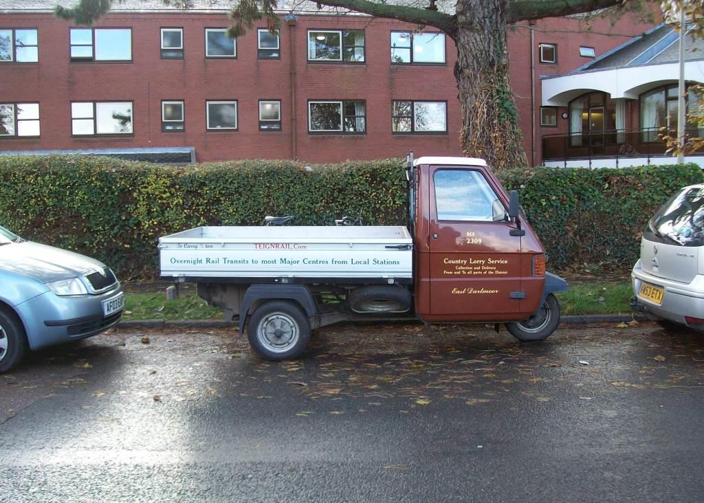 Piaggio parked