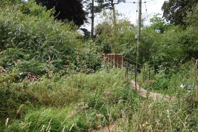 Station footbridge, Brampford Speke