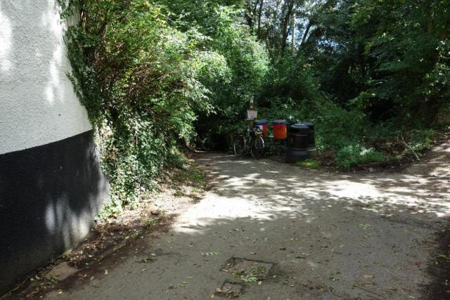 Station path, Brampford Speke