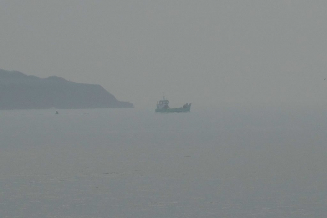 Landing craft, Orcombe Point