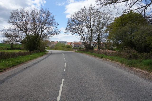 London Road at Rockbeare Bridge