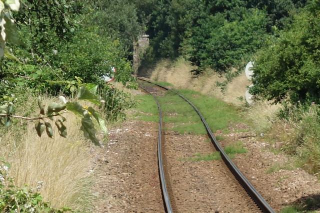 Track at Copplestone Station