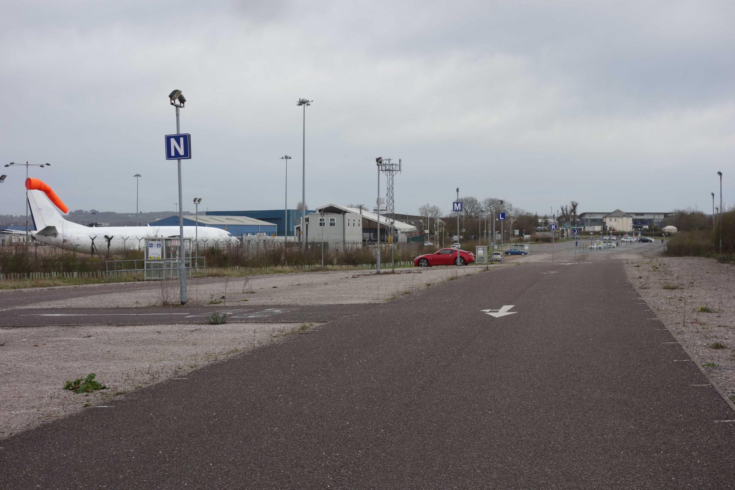 Exeter Airport car park